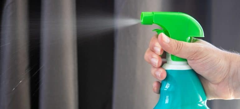 Cleaning and disinfecting your new home is a must