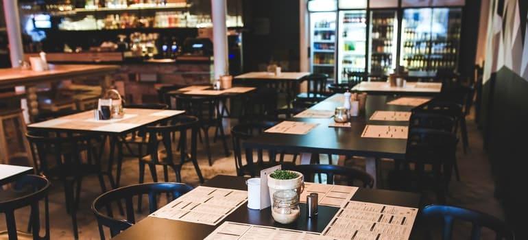 A restaurant